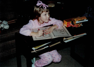 Tongue-out coloring. It's how I roll.